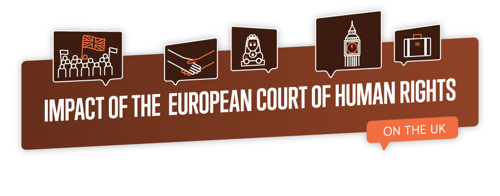 IMPACT OF THE EUROPEAN COURT     OF HUMAN RIGHTS ON THE UK
