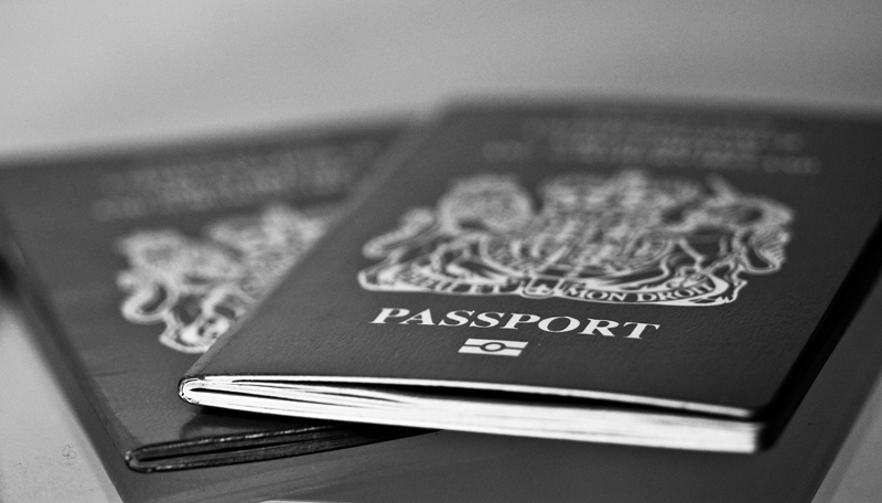 Passport BW