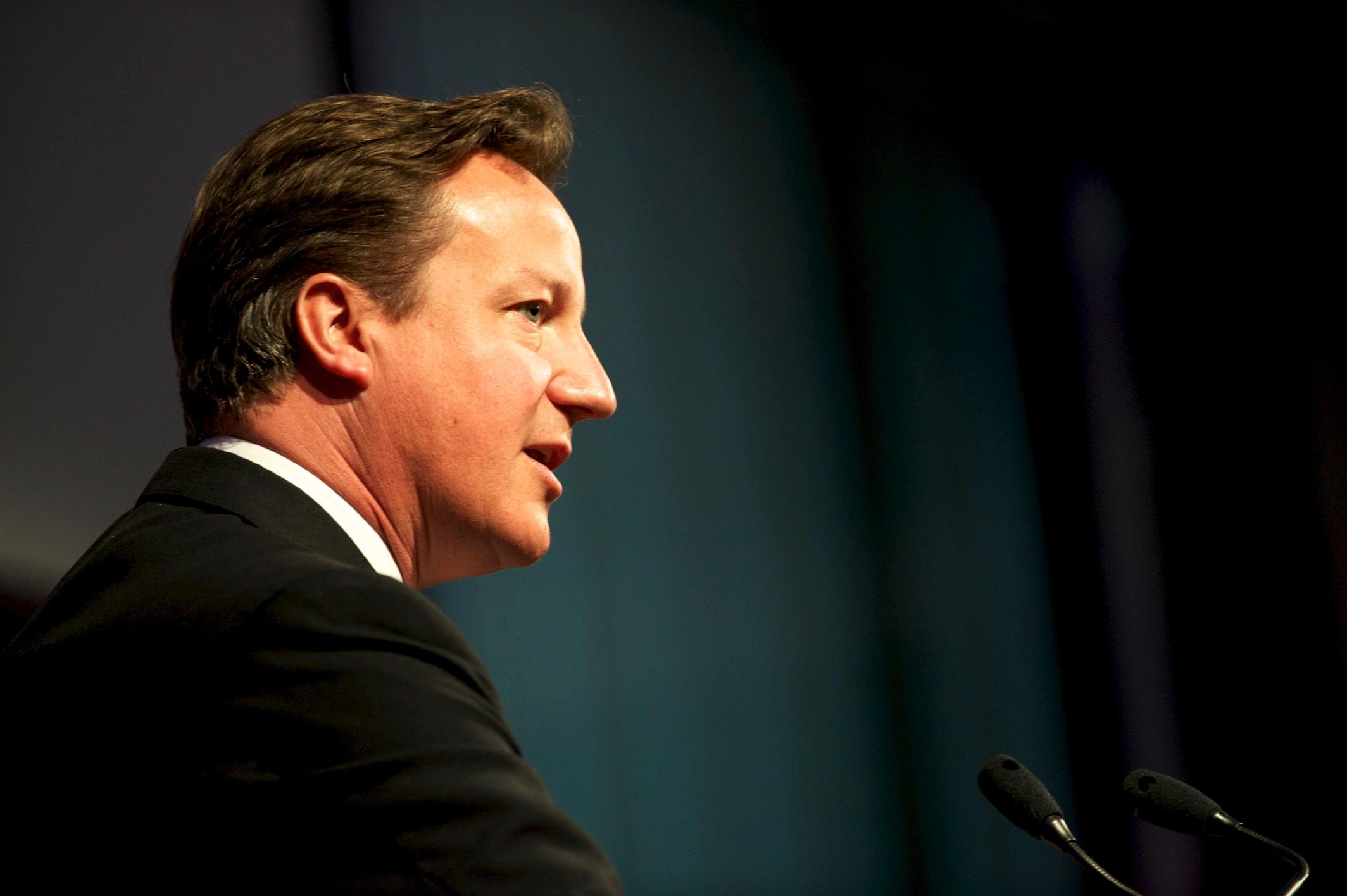 Prime Minister David Cameron,