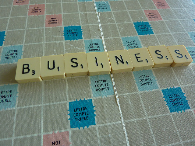 Business scrabble