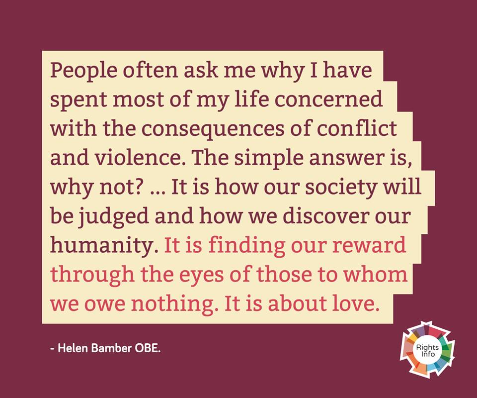 Helen Bamber quote