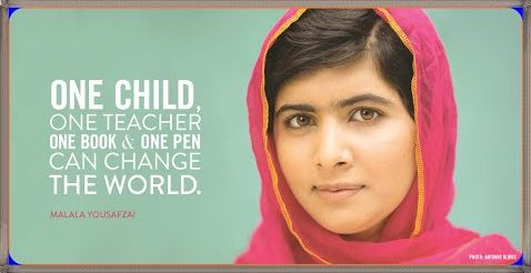 Image result for malala day