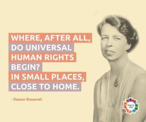 Eleanor Roosevelt Quote Rightsinfo
