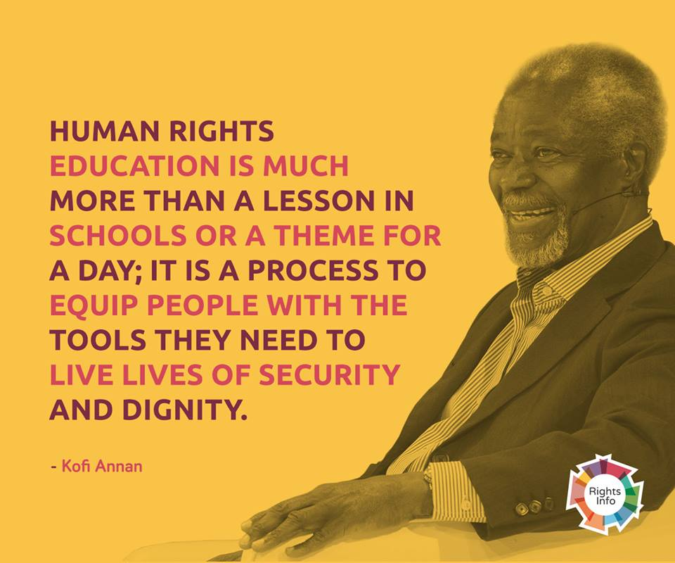 Kofi Annan education
