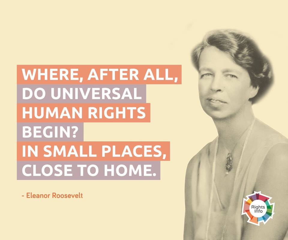 Eleanor Roosevelt Rightsinfo