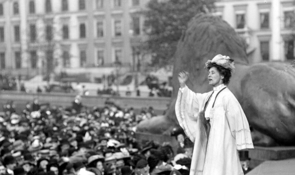 Image result for suffragette Emmeline Pankhurst.""