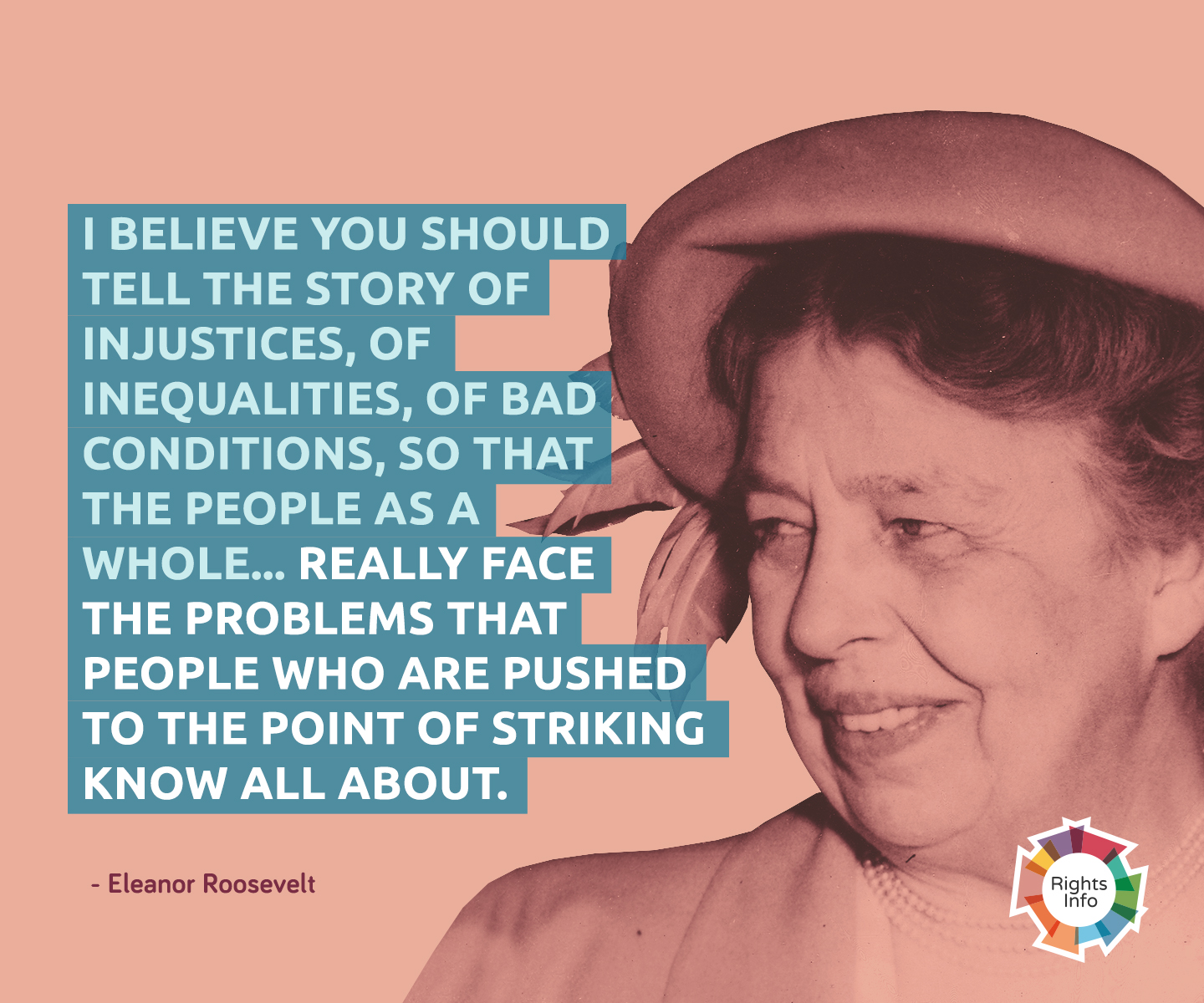 Eleanor Roosevelt Shared Values Rightsinfo