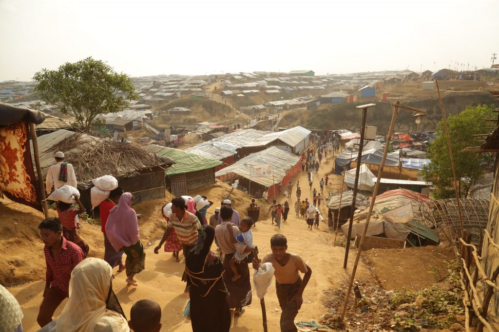 UNSC team visits Rohingya in Bangladesh camps