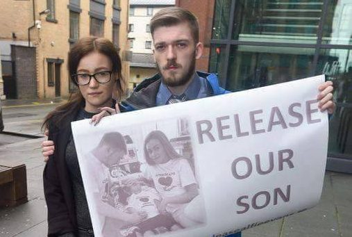 Baby's parents lose court battle over life support