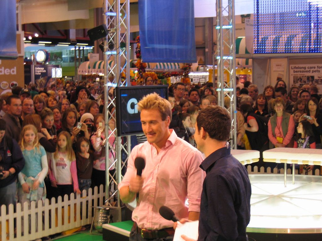 Ben Fogle has been an enthusiastic support of the islanders