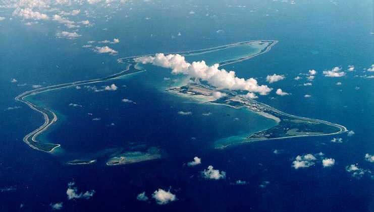 Diego Garcia is the largest island