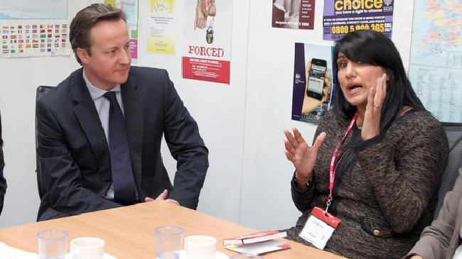 David Cameron and Jasvinder
