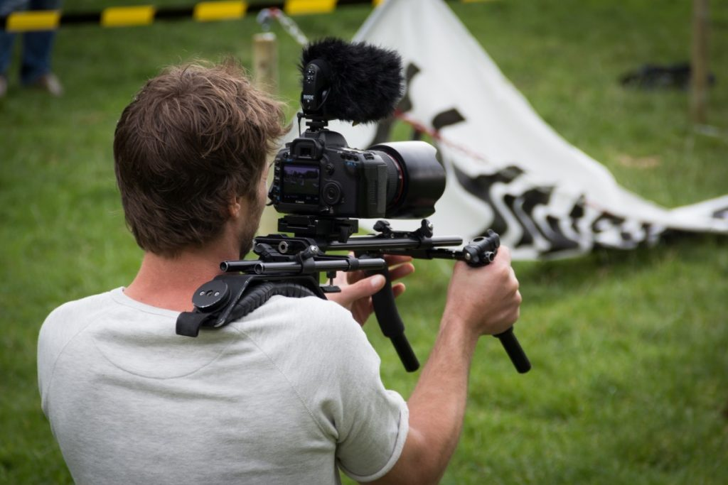 Man Filming