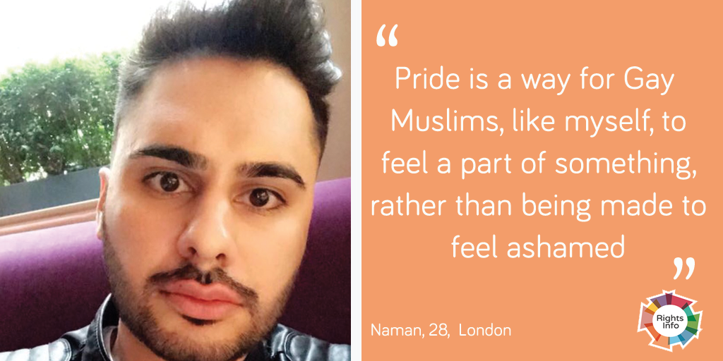Naman talks about Pride