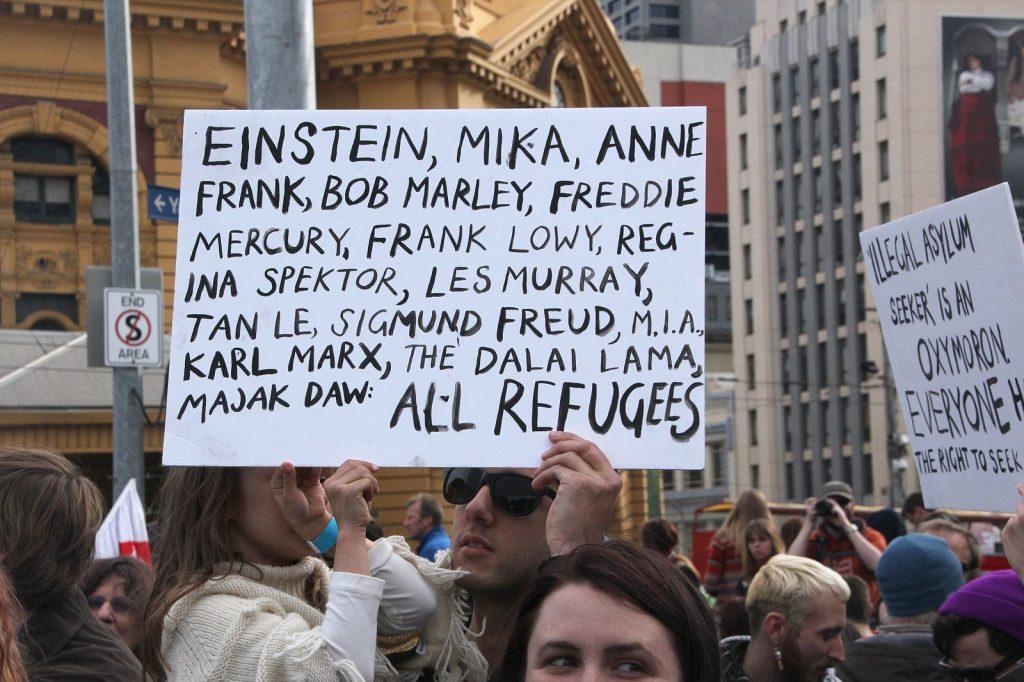 Pro-Refugee Protest