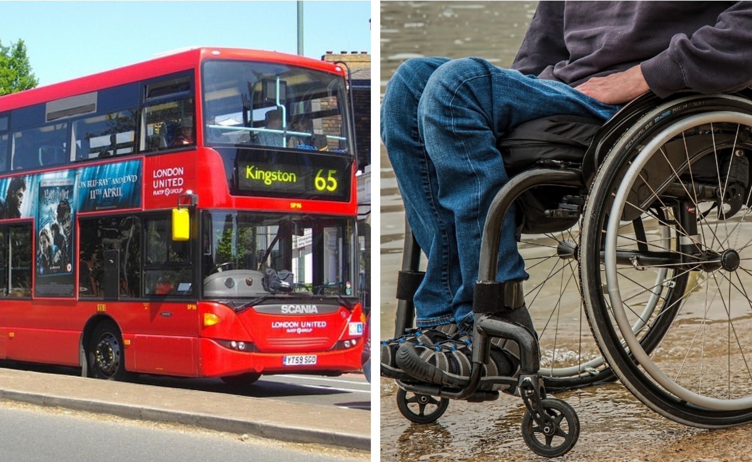 The Wheels on the Bus Go' … Not in the Designated Wheelchair