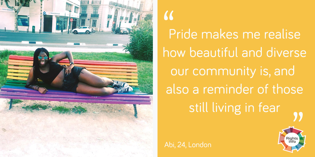 Abi talks about pride