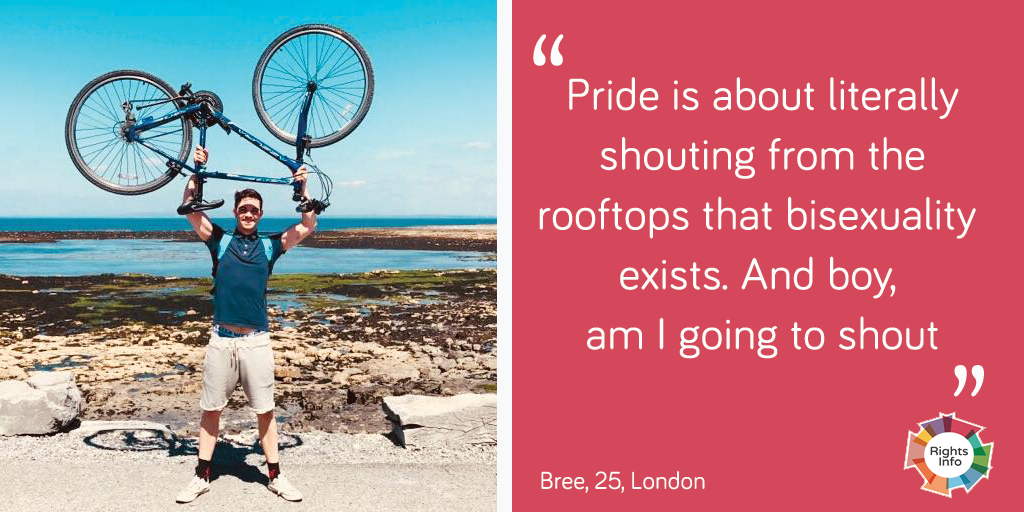 Bree talks about Pride