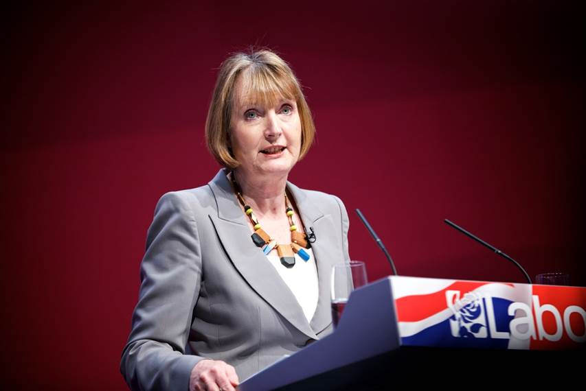 harriet harman was debating the state of youth dentention