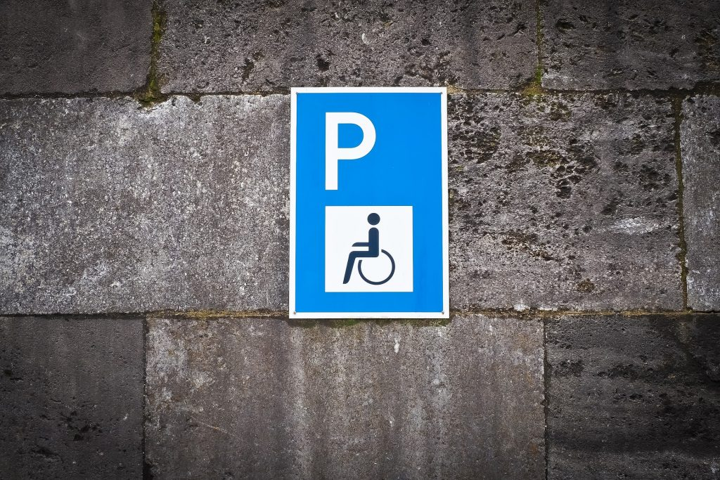 blue badges are available from librariess in northamptonshire