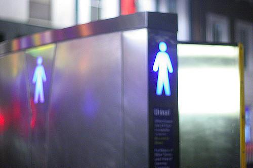 Public urinal gender