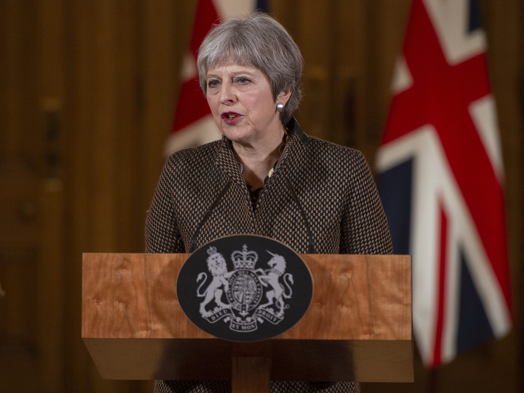 Theresa May make statement on Brexit