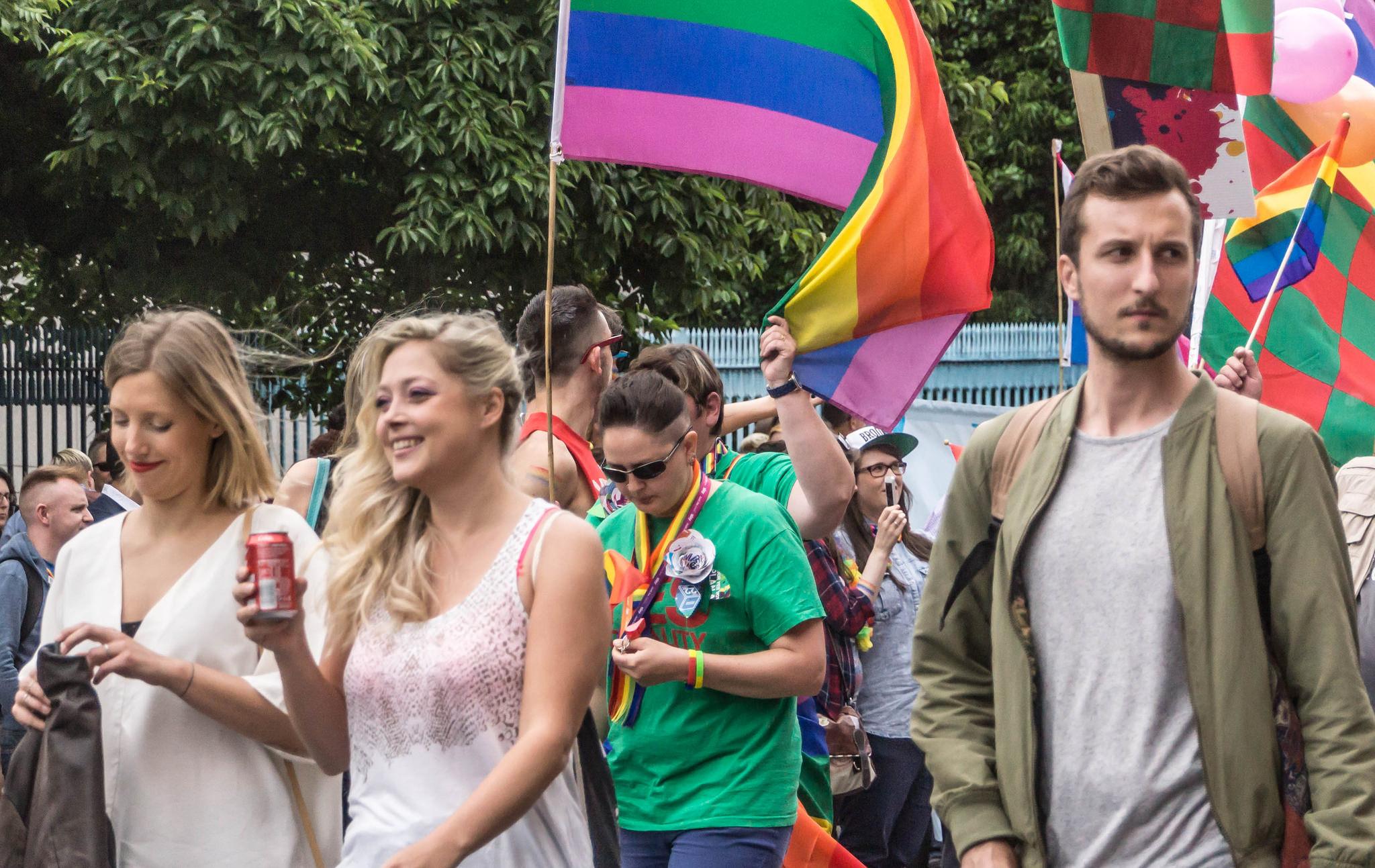 Dublin Pride Protest 2017