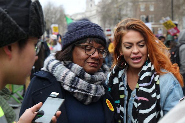 Dianne Abbott at UN Anti Racism Week