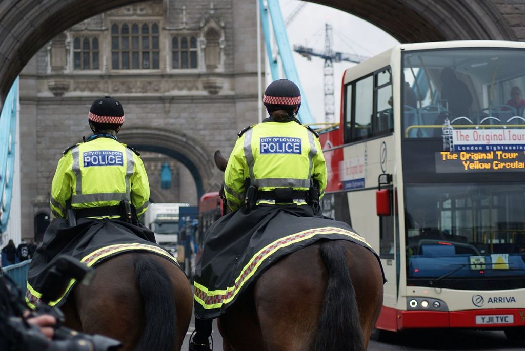 City of London Police Horses