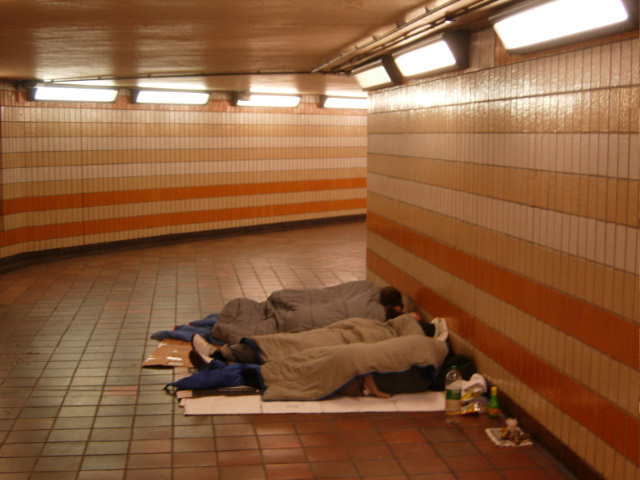 Sleeping Rough cc-by-sa/2.0 - © Stephen McKay - geograph.org.uk/p/533669