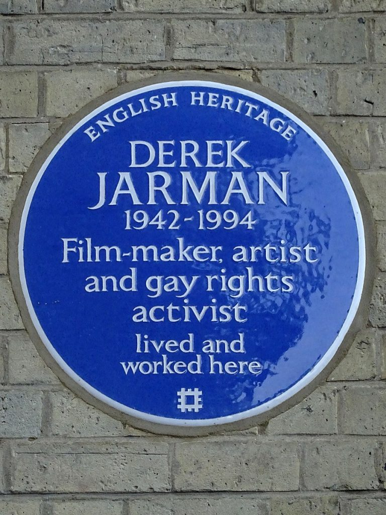 https://commons.wikimedia.org/wiki/File:Derek_Jarman_1942-1994_Film-maker,_artist_and_gay_rights_activist_lived_and_worked_here.jpg
