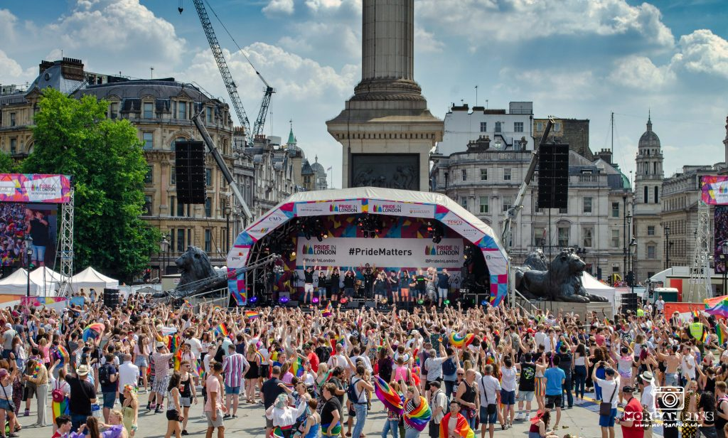 Pride in London 2018 main stage