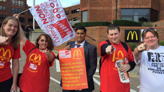 The McDonald's Strike: Are Human Rights Part of the Solution?
