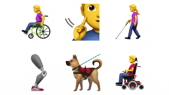 Apple Announces Accessibility Emojis And We, For One, Are Delighted