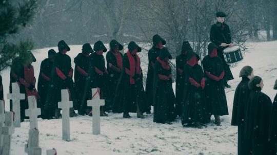 As The Handmaid's Tale Moves Beyond The Book, Is The Series Too Close For Comfort?