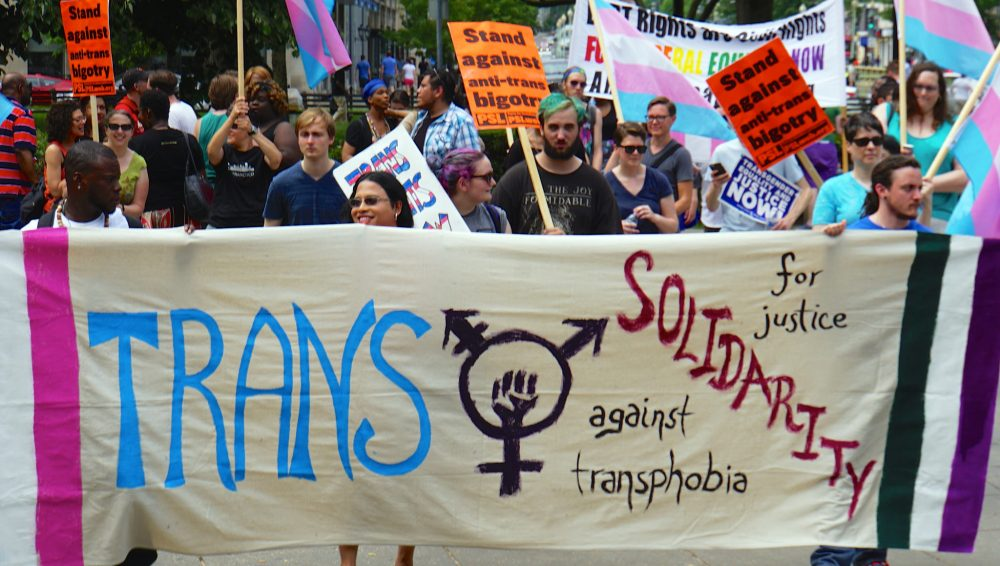 Transgender rights march