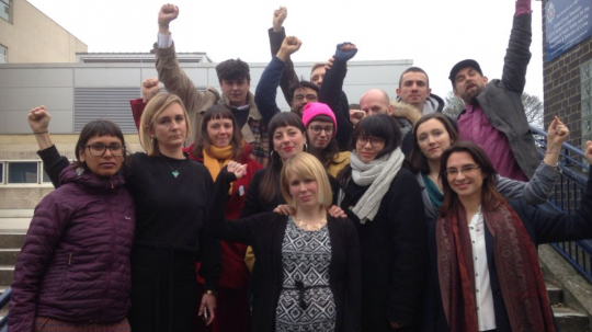 Stansted 15 Protestors Have Convictions Overturned For Stopping Deportation Flight By Court Of Appeal