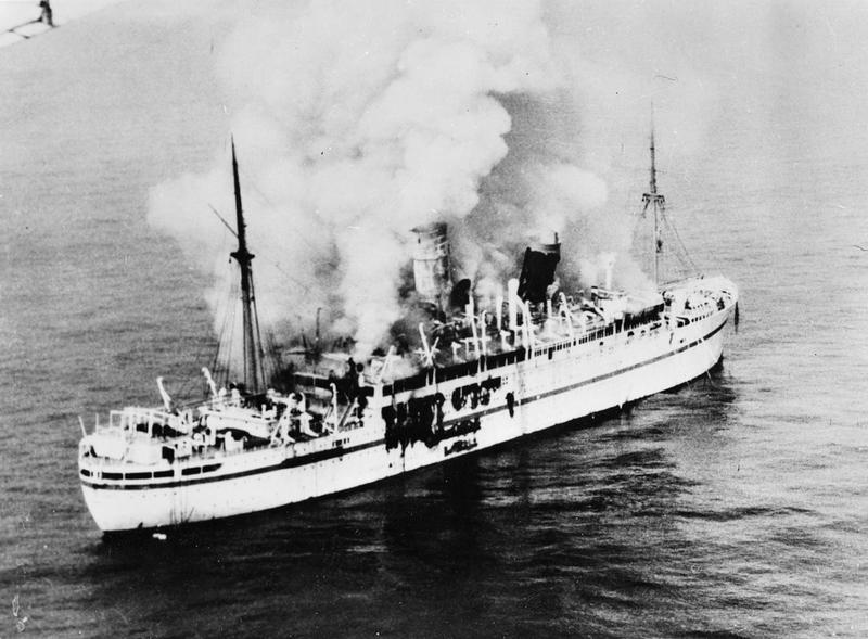 A photo of the Empire Windrush