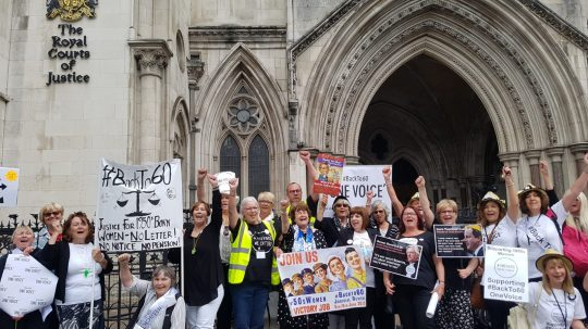 Pension Age Increase Breaches Rights Of Women Born In 1950s, High Court Hears