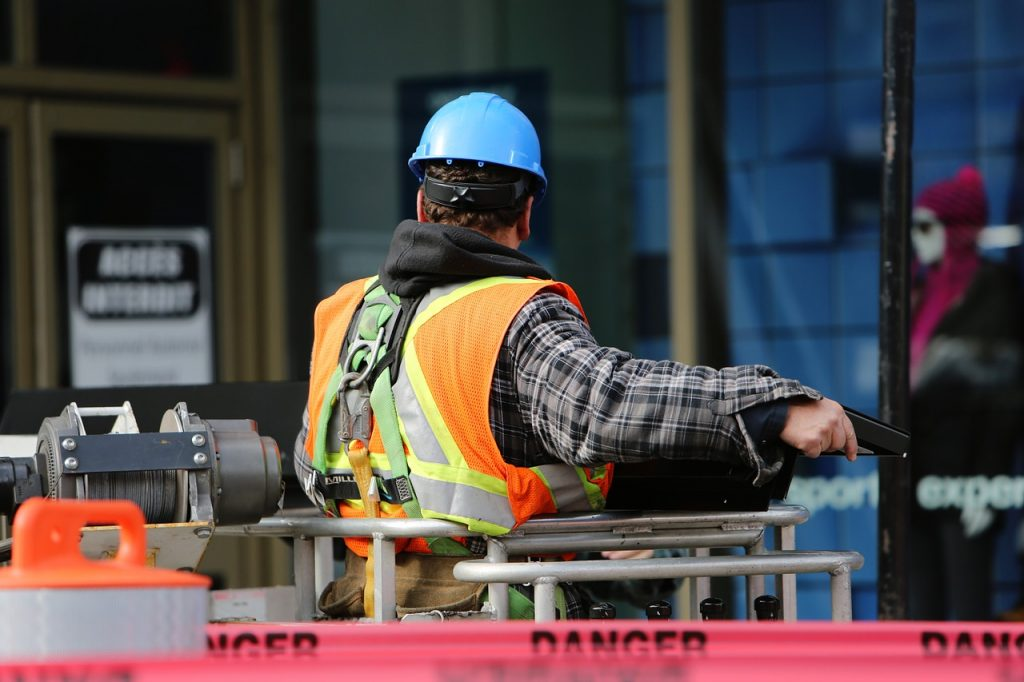 General Election: Construction worker