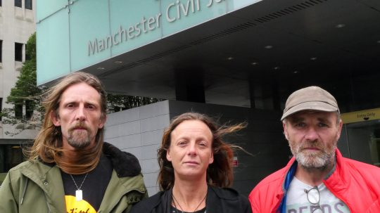 Suspended Jail Sentences For Campaigners Protesting Site Of UK's 'Biggest Fracking Tremor'