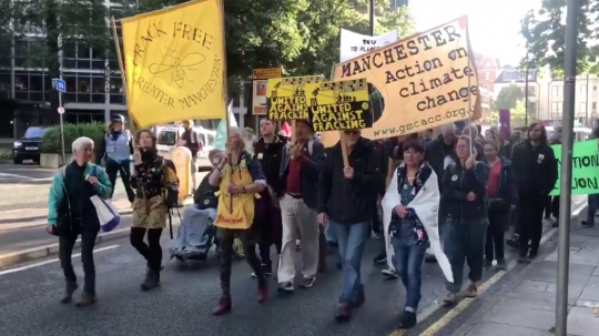 Anti-Fracking Protesters 'May Be Vindicated' By Earthquake, Court Told