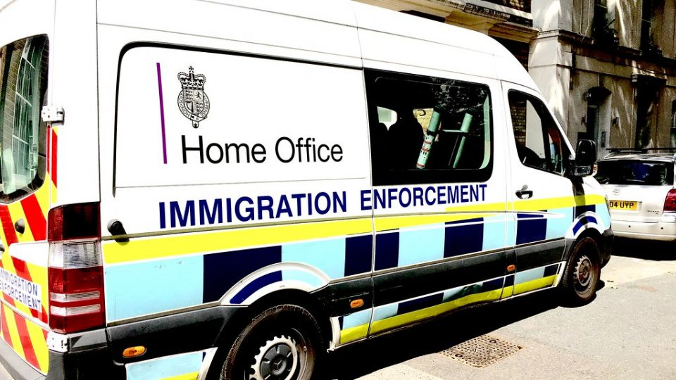 Featured Image Credit:Home Office Immigration enforcement van | Counse |Flickr.