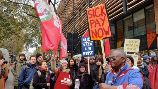 Outsourced Workers Strike At One Of UK's Biggest Universities