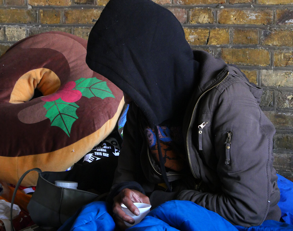 Coronavirus on the minds of people experiencing homelessness