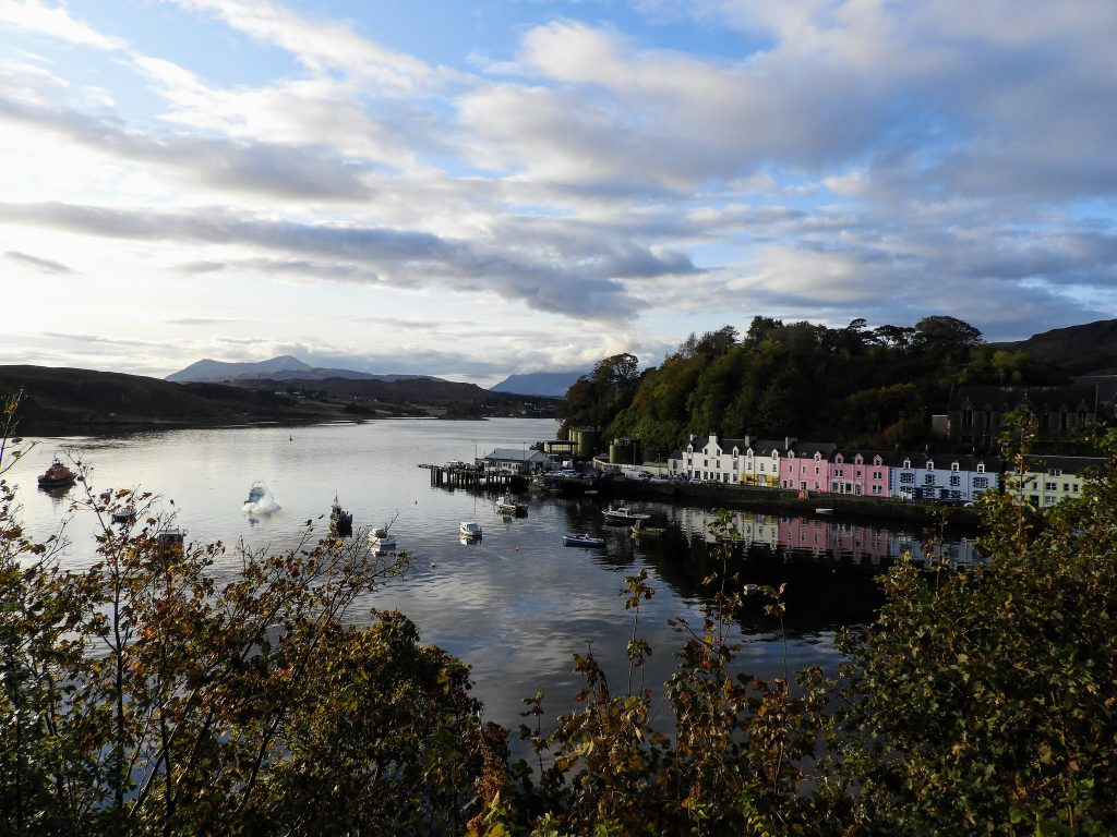 A photo of Portree, where Home Farm care home is situated – and where there has been a coronavirus outbreak
