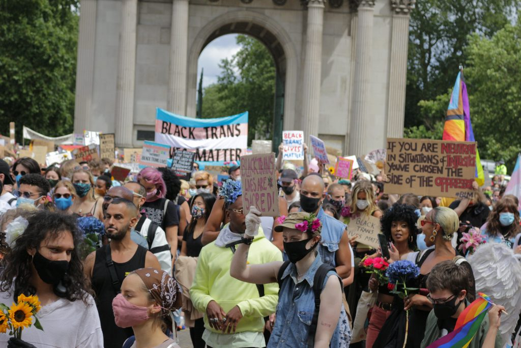 The Black Trans Lives Matter protests in London