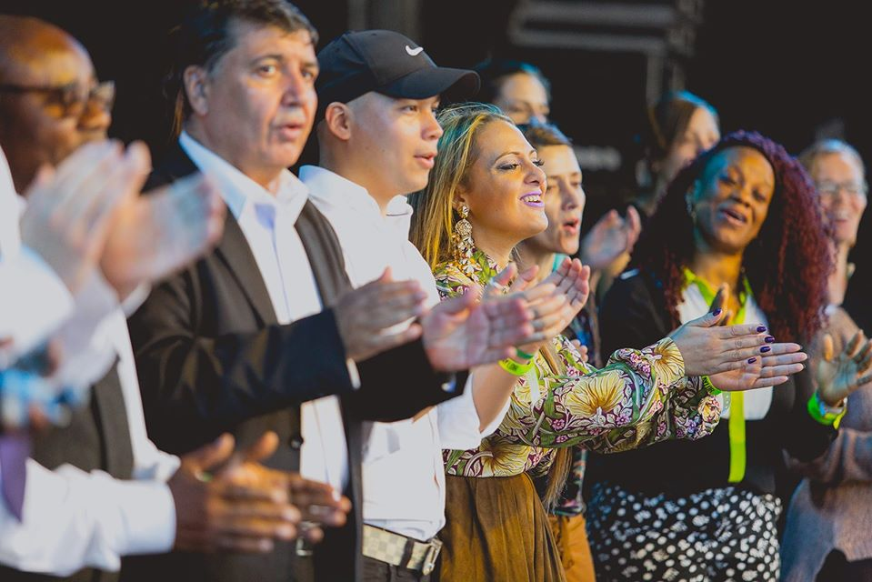 Citizens of the World Choir in action