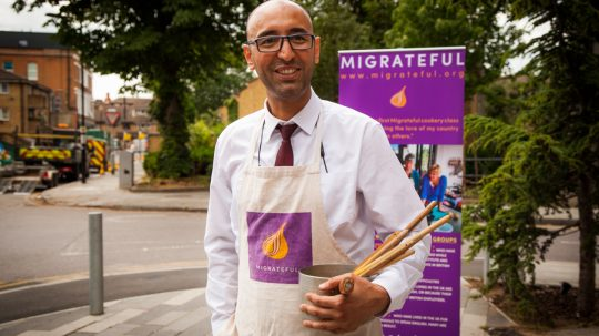 Meet The Afghan Refugee Who Is Building Bridges With Cooking