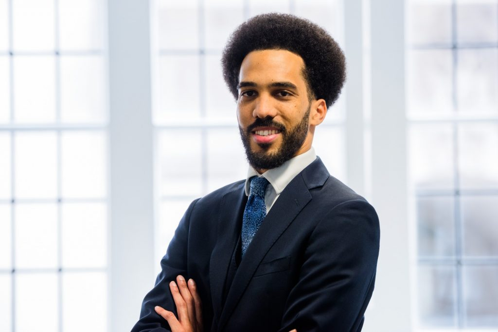 Michael Etienne, a member of the Black Barristers' Network